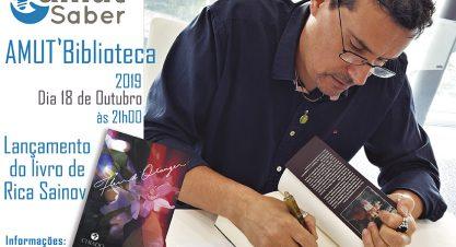 """AMUT'Biblioteca – Apresentação do Livro """"Fleur d'Oranger"""", de Rica Sainov"""